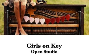 girls on keys